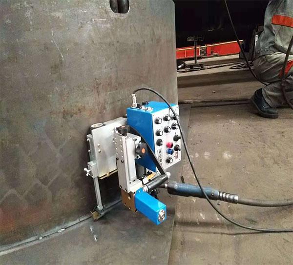 KA-HE9摆动角焊小车