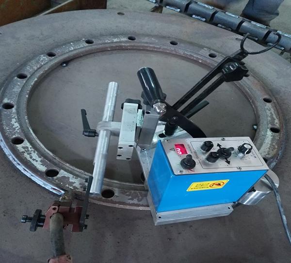 KA-FL法兰盘焊接小车